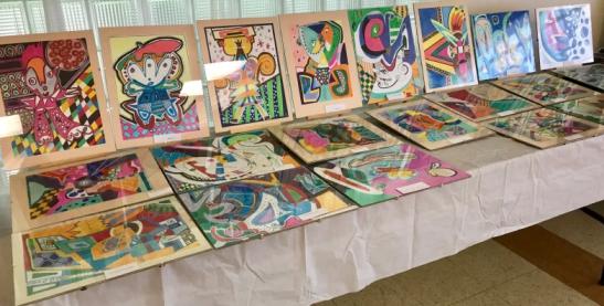 04 Expozitia de picturi de la Campul Romanesc Hamilton iulie 2018