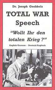 Goebbels Total war speech