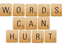Conștiința  încărcată  a  cuvintelor