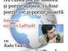 "Interviu RADU VANCU: ""Nu există poezie minoră și poezie majoră – ci doar poezie vie și poezie moartă"""