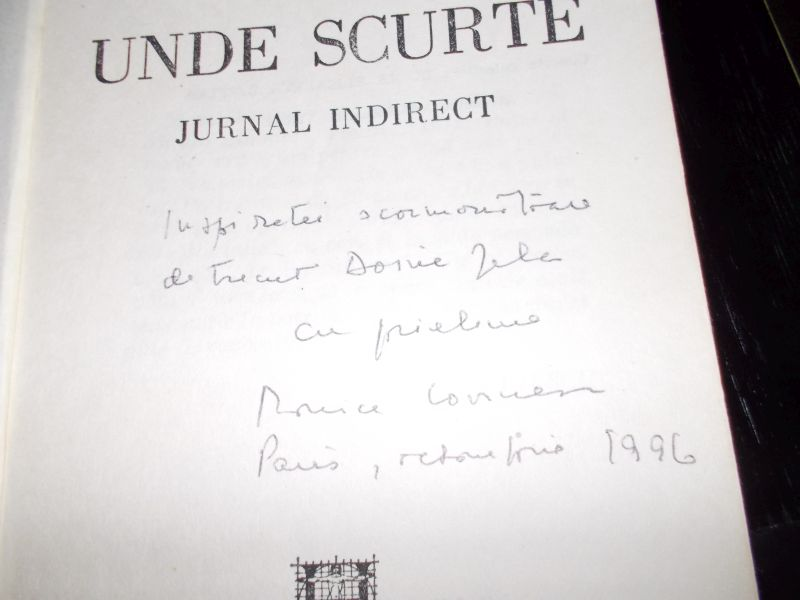 autograf M Lovinescu