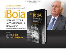 12 mai, ora 19: lansare Lucian Boia, Strania istorie a comunismului românesc