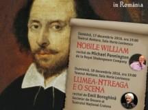 """Teatrul Nottara găzduiește Închiderea Anului """"Shakespeare – 400"""""""