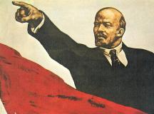 1917, facerea lumii.Flamura roşie