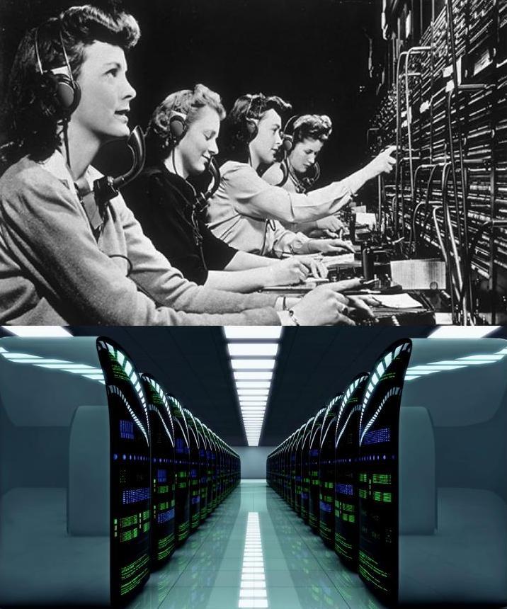 Dependența actuală de automatizare este totală. Funcțiile vitale ale societății moderne nu mai pot fi realizate de oameni. Rețelele de comunicații de date sunt vitale și total dependente de automatizări electronice. Optimizarea lor este printre principalii beneficiari ai Swarm Intelligence, inteligenței de roi