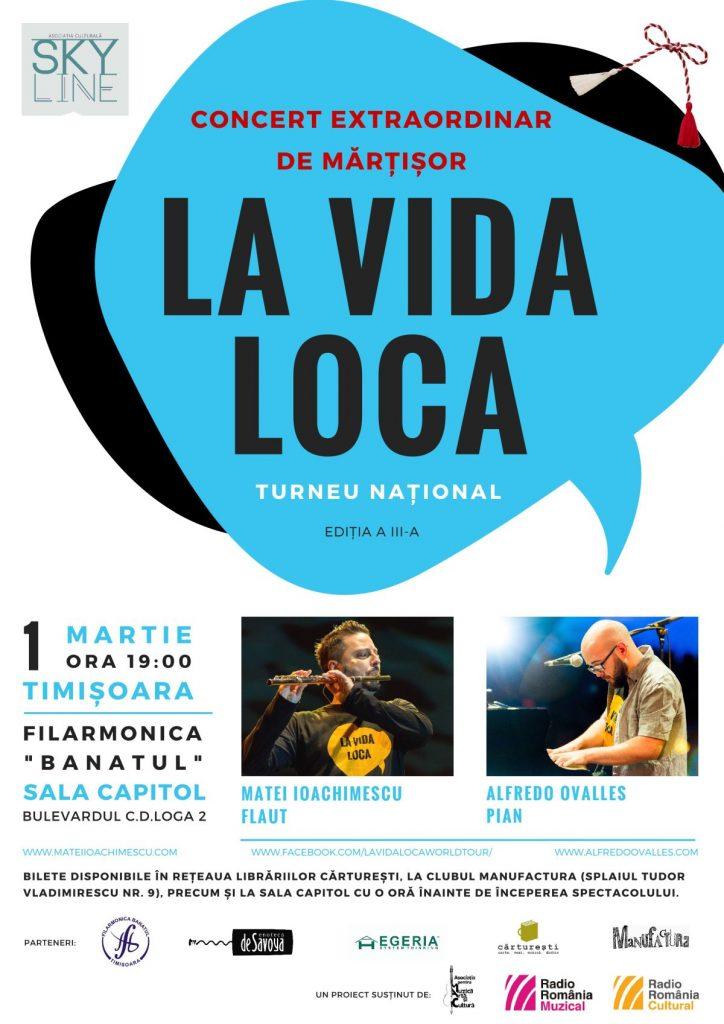 LA  VIDA LOCA în România- flautistul Matei Ioachimescu si pianistul Alfredo Ovalles