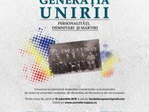 GENERAȚIA MARII UNIRI – PERSONALITĂȚI, DEMNITARI ȘI MARTIRI, a treia ediție a concursului de eseuri Corneliu Coposu