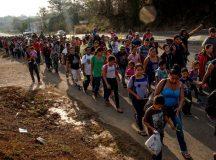 Caravana ilegalilor și bătălia imigrației