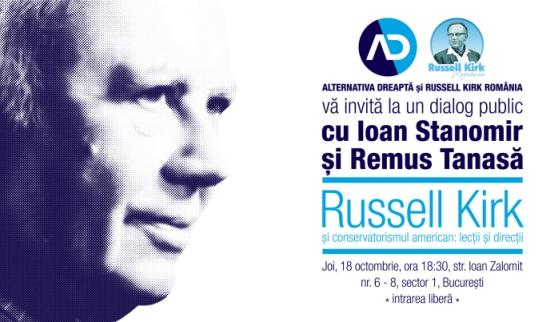 Lansare concurs de eseuri dedicat centenarului nașterii lui Russell Kirk (1918-1994)