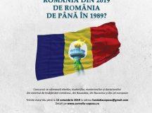 Concurs de eseu politic: Prin ce diferă România din 2019 de România de până în 1989?