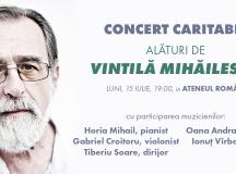 Alături de antropologul Vintilă Mihăilescu.  Vino la Concertul Caritabil de la Ateneul Român din 15 iulie!