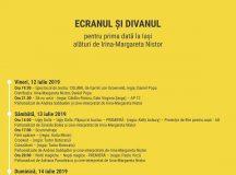 Ecranul și Divanul: 12-14 iulie, Iași