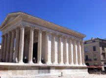 AVENUE DE PROVENCE. Casa Pătrată/ La Maison Carrée, Nîmes