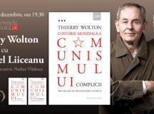 Miercuri, 16 decembrie, de la ora 19.30: Thierry Wolton în dialog cu Gabriel Liiceanu