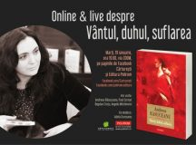 Online&live despre romanul Vîntul, duhul, suflarea de Andreea Răsuceanu