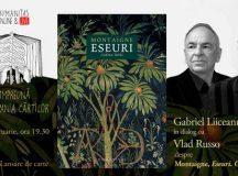 """Gabriel Liiceanu în dialog cu Vlad Russo despre """"Eseurile"""" lui Montaigne, apărute recent într-o nouă traducere"""