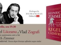 """Gabriel Liiceanu în dialog cu Vlad Zografi despre pasionanta carte a lui Heinrich Zimmer """"Regele și cadavrul"""""""