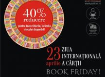 Ziua Internațională a Cărții la Editura Polirom: 40% reducere la peste 2000 de titluri disponibile