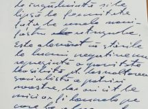 Scrisul lui Ceaușescu