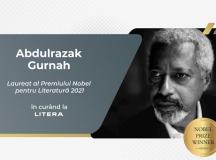 Abdulrazak Gurnah, laureat al Premiului Nobel pentru Literatură 2021, va apărea în România la Editura Litera